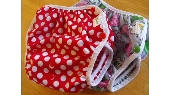 Diaper cover - for fitted