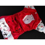 Embroided diapers