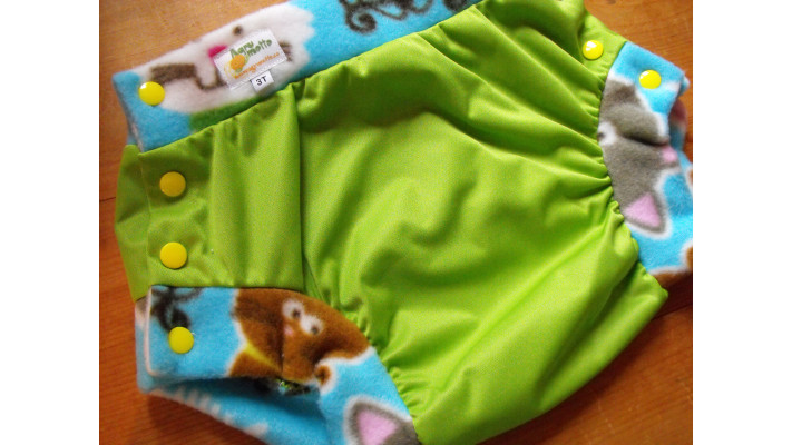 Diaper cover 3T - lime
