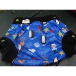 Couvre-couches pul/polar MEDIUM (16-22 lbs) pour couches moulées - prêt à livrer