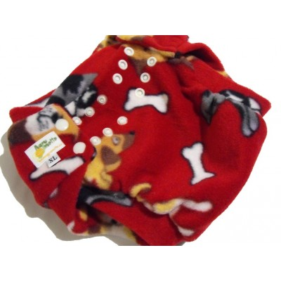 Diaper cover - fleece