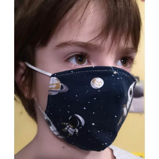 Masque enfant 5-12 ans fait au Québec - plusieurs choix prêts à partir