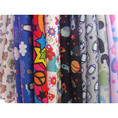 PUL for diaper making (22 x 55/56 pouces)
