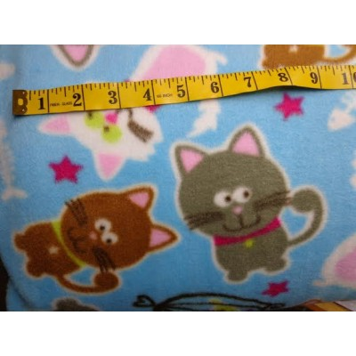 Anti-pill polar fleece (cats)