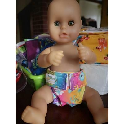 Deux couches pour poupée - PRÊTES À PARTIR