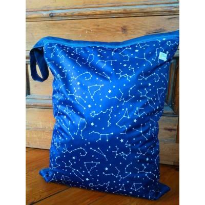 """GRAND sac imperméable (wet bag) 18""""x23"""" - tissus au choix"""