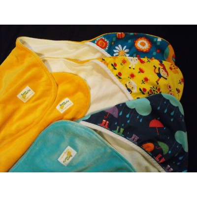 Bath towel  capuchon baleines 12-30 months-  ready to ship
